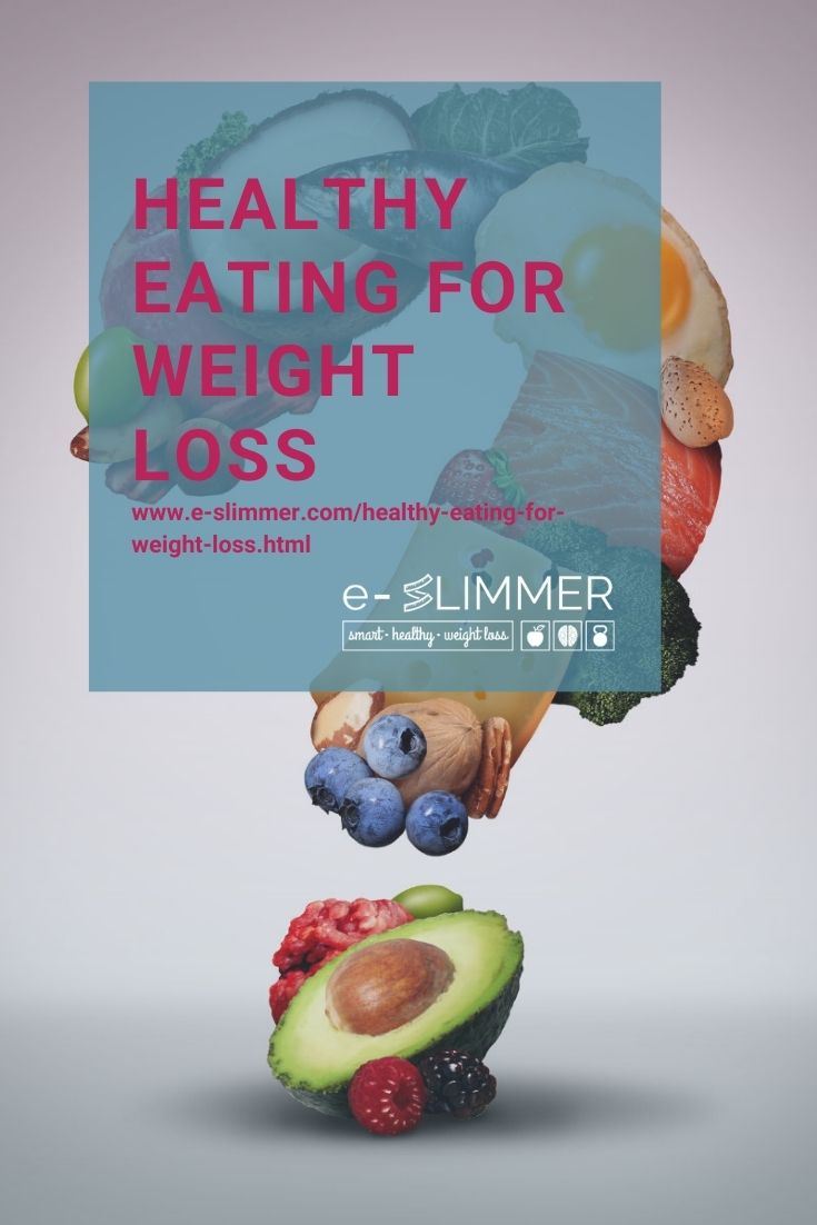 Find out all about healthy eating for weight loss and what it actually means...