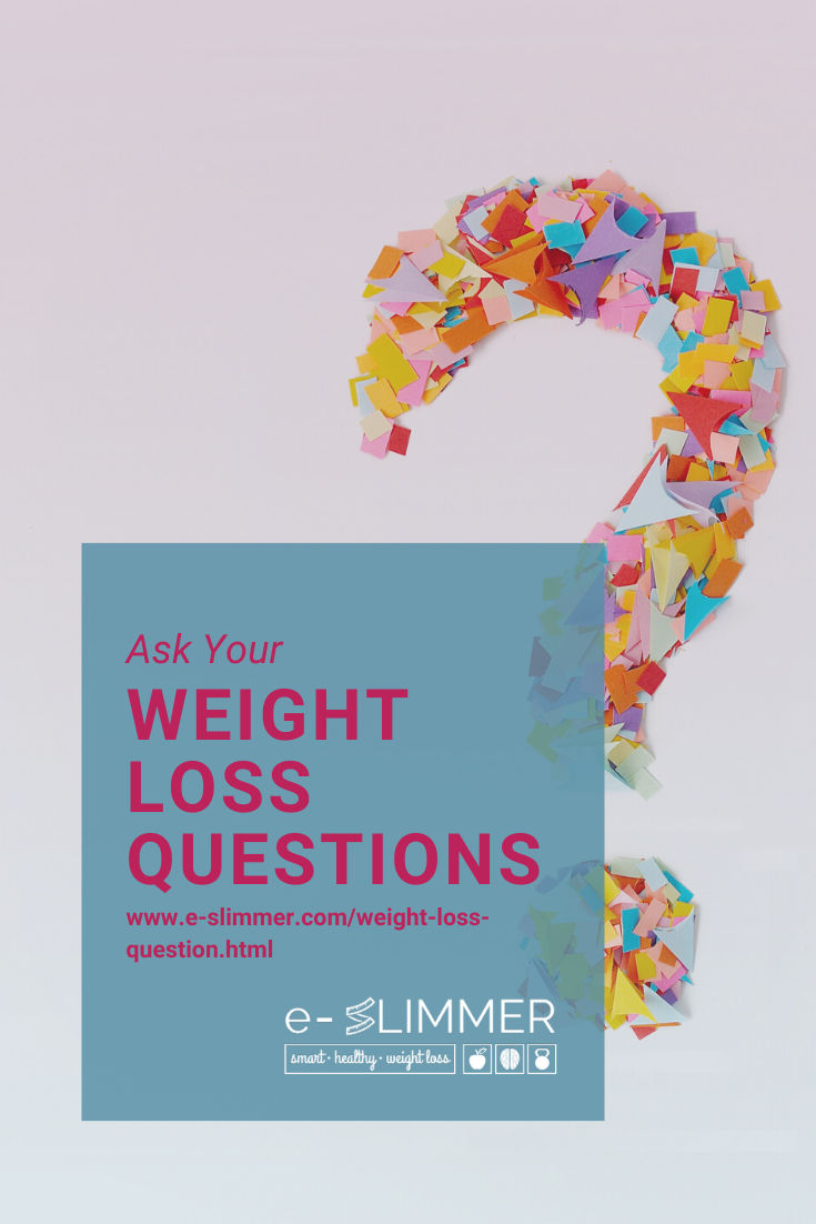 If you have a burning weight loss question, why not ask? Do you want to know how to make a smoothie? How to fit exercise into your schedule? Ask me now...