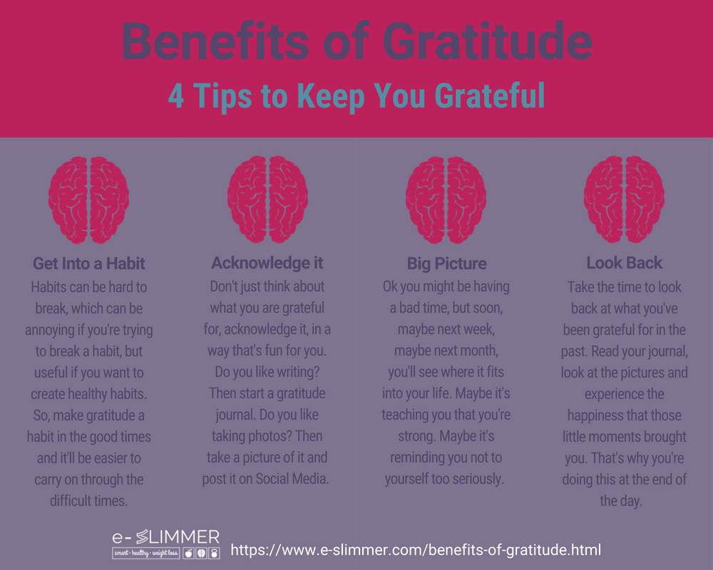 Benefits of Gratitude: 4 Tips to keep you grateful