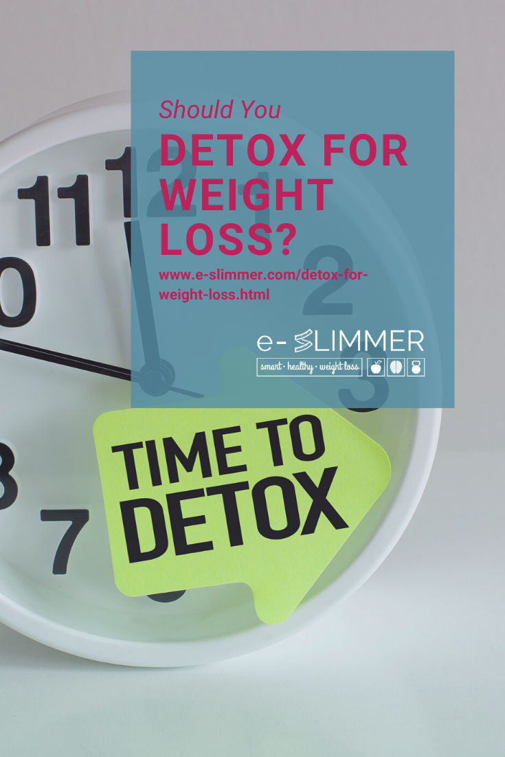 Do you need to detox to lose weight? Find out all about detoxing and why it could be valuable....