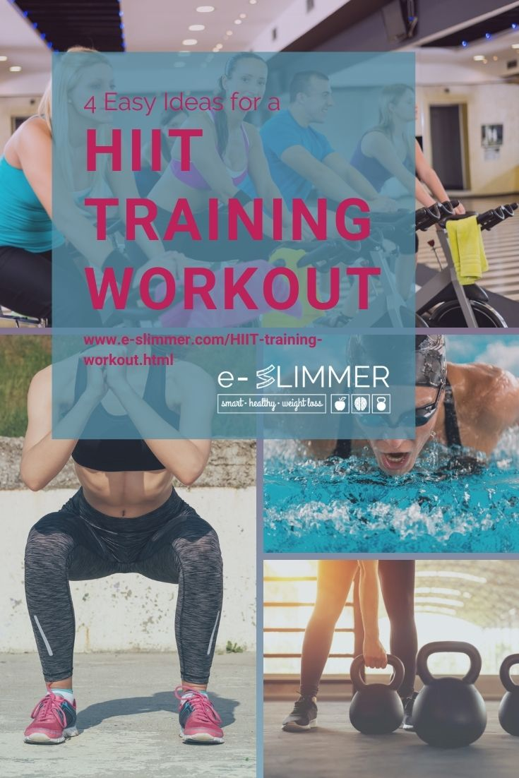 4 Easy Ideas for a HIIT Training Workout