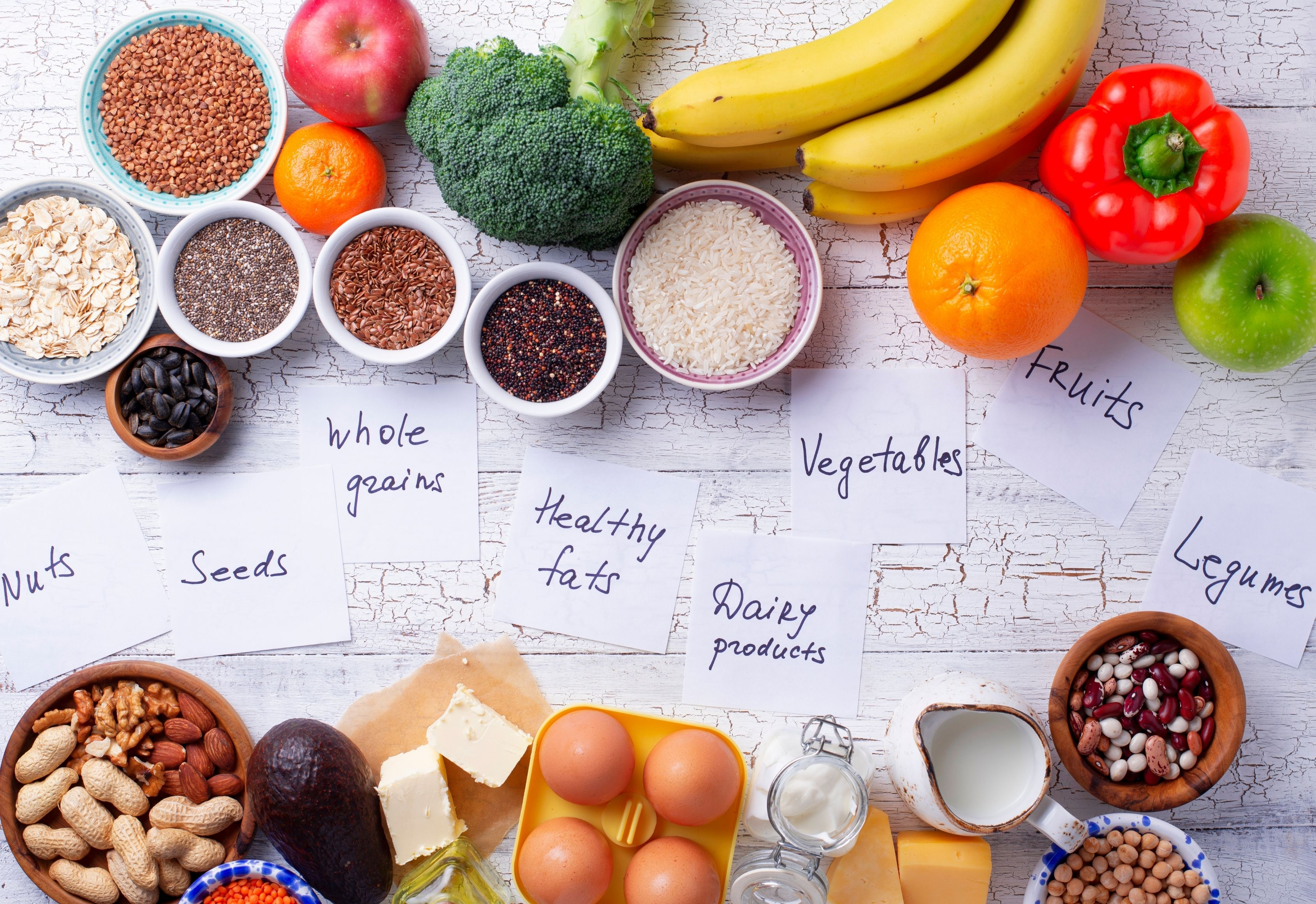 Ideal diet for healthy living - focus on making your meals healthy