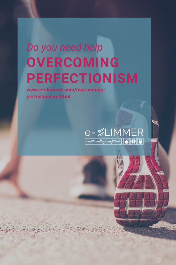 Do you want to know how to stop sabotaging your weight loss goals? You need to overcome your perfectionism. Find out how...
