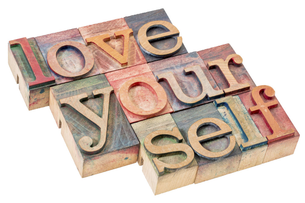 Loving yourself just as you are is important for your happiness