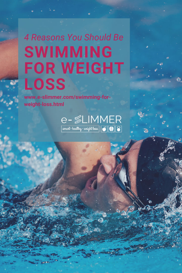 Swimming is great for weight loss. Here are 4 reasons you should try it...