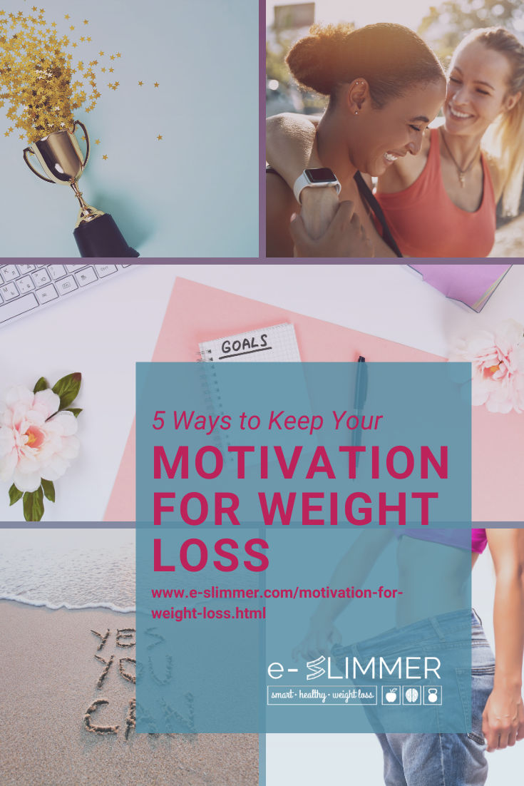 Here are 5 ways to stay motivated to reach your weight loss goals, even when you want to quit...