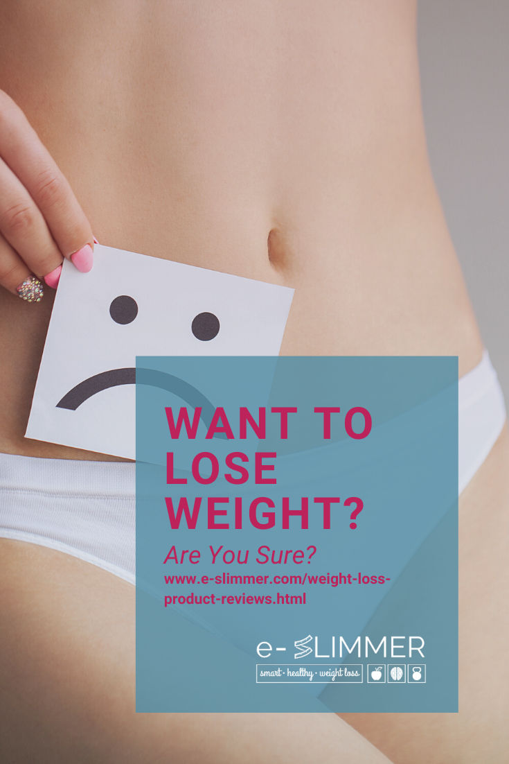 Are you sure you want to lose weight? Might sound like a silly question, but it's really not. Read on...
