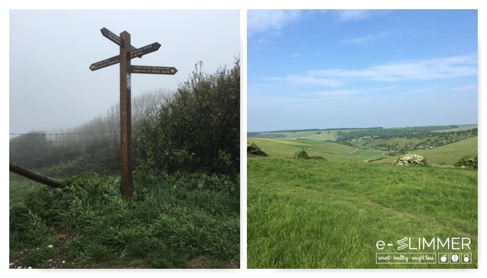 Setting yourself a daily step or distance target will help keep you motivated. And you'll see some awesome countryside