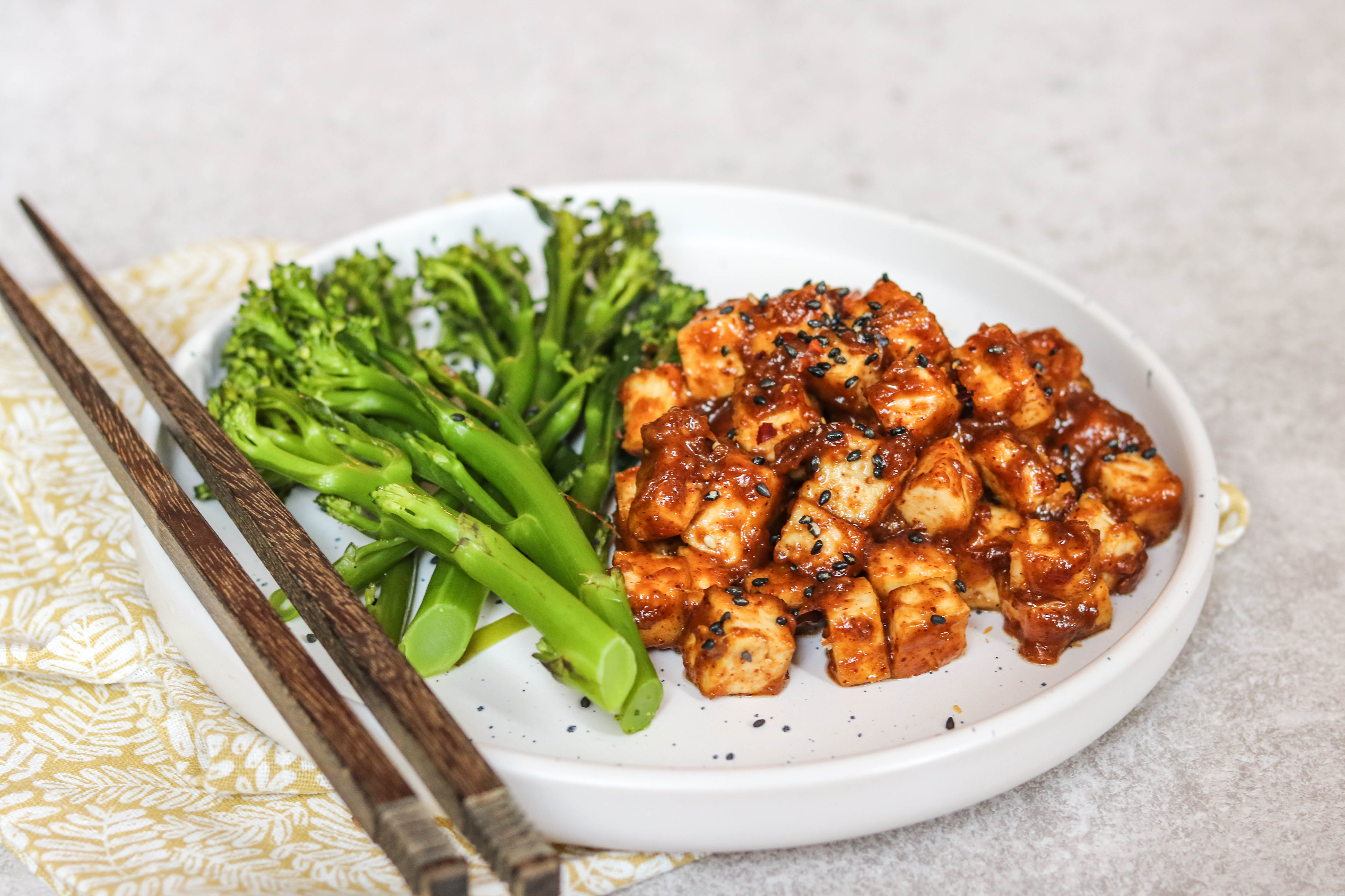 Vegetarian Recipes for Weight Loss - Tofu in Peanut Sauce