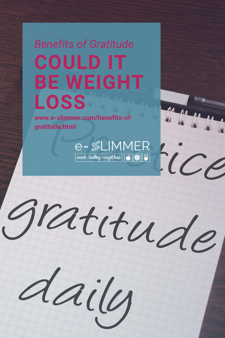 Practicing gratitude can help many areas of your life. Find out all about it, including how it can help you lose weight.