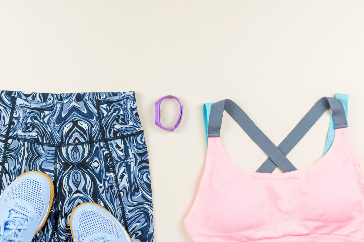 Comfortable workout clothes don't have to be frumpy